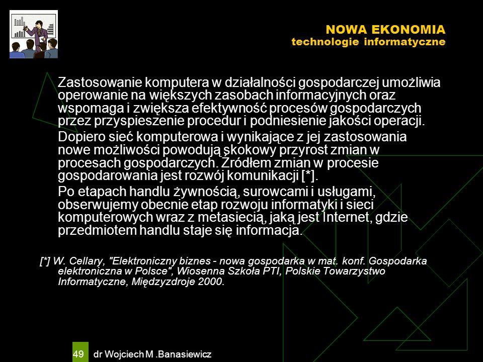 NOWA EKONOMIA technologie informatyczne