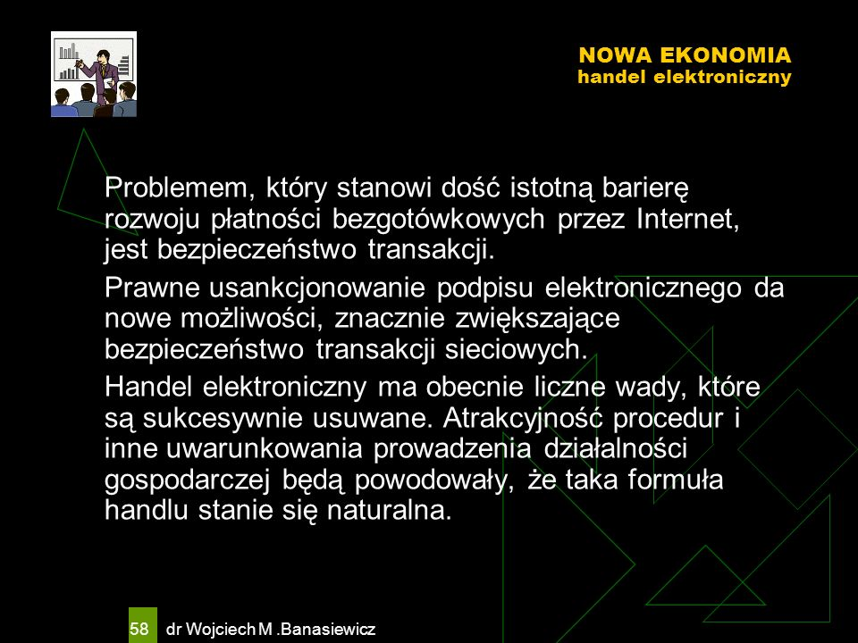 NOWA EKONOMIA handel elektroniczny