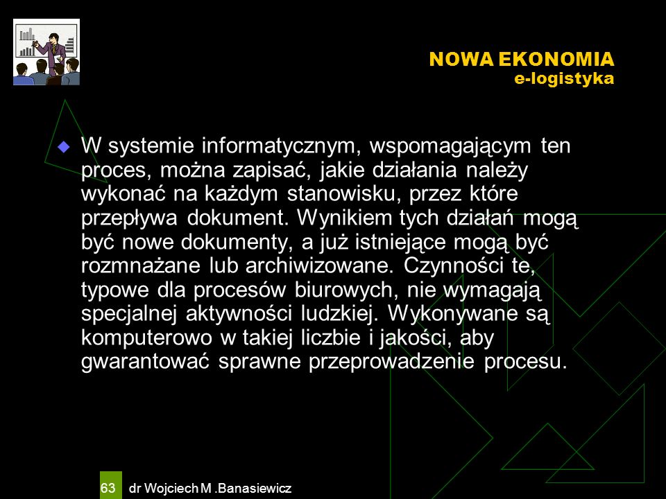 NOWA EKONOMIA e-logistyka