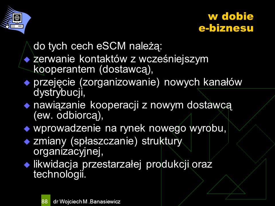 do tych cech eSCM należą: