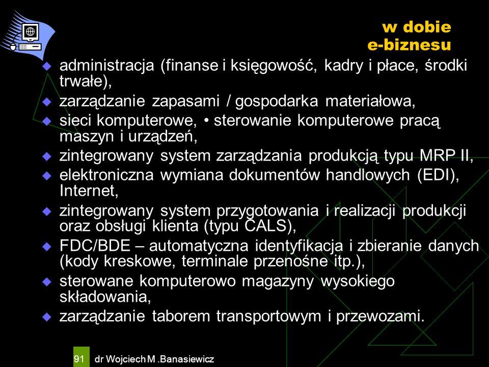 administracja (finanse i księgowość, kadry i płace, środki trwałe),