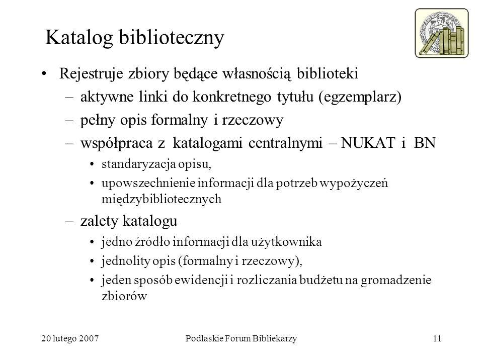 Podlaskie Forum Bibliekarzy