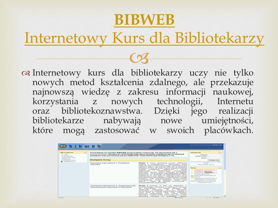 BIBWEB Internetowy Kurs dla Bibliotekarzy
