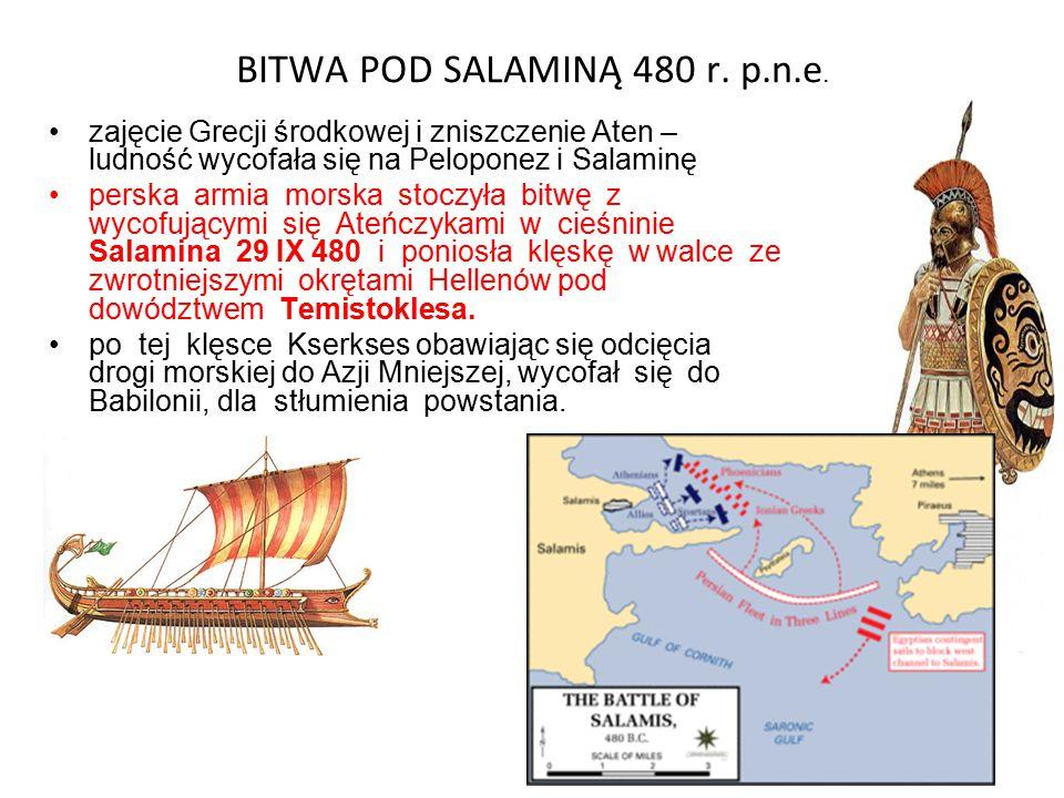 BITWA POD SALAMINĄ 480 r. p.n.e.
