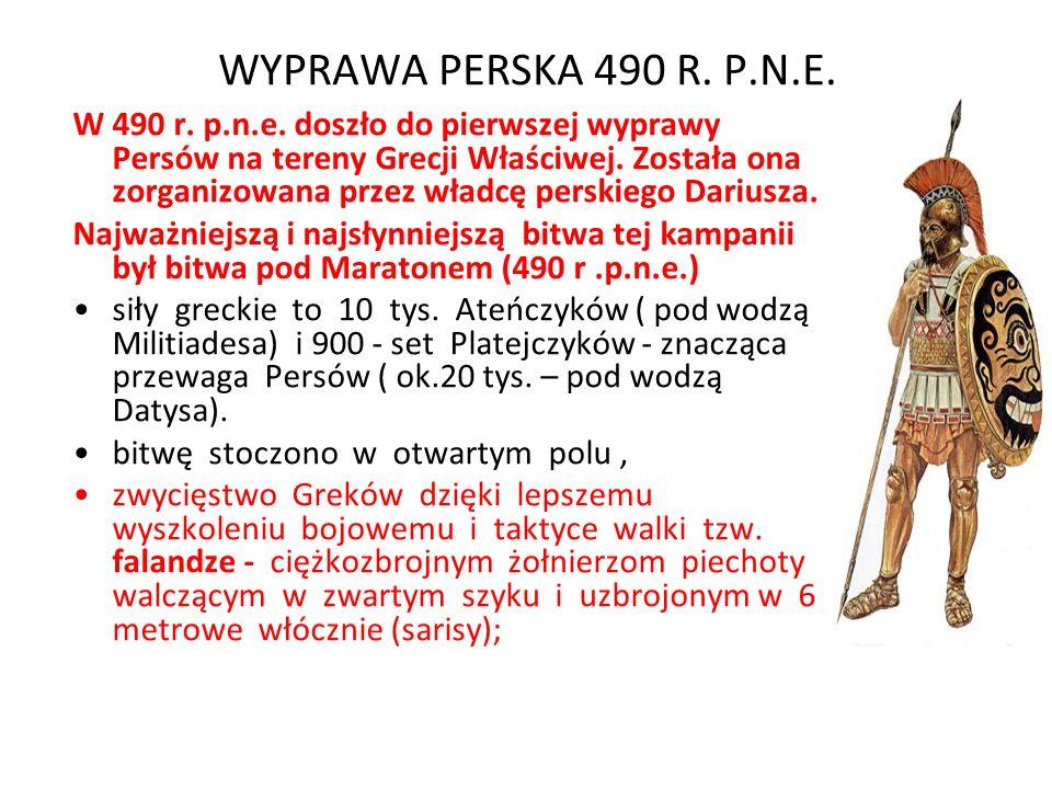 WYPRAWA PERSKA 490 R. P.N.E.