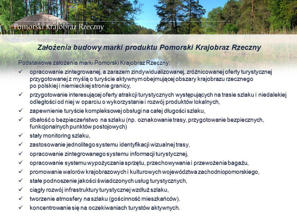 Założenia budowy marki produktu Pomorski Krajobraz Rzeczny