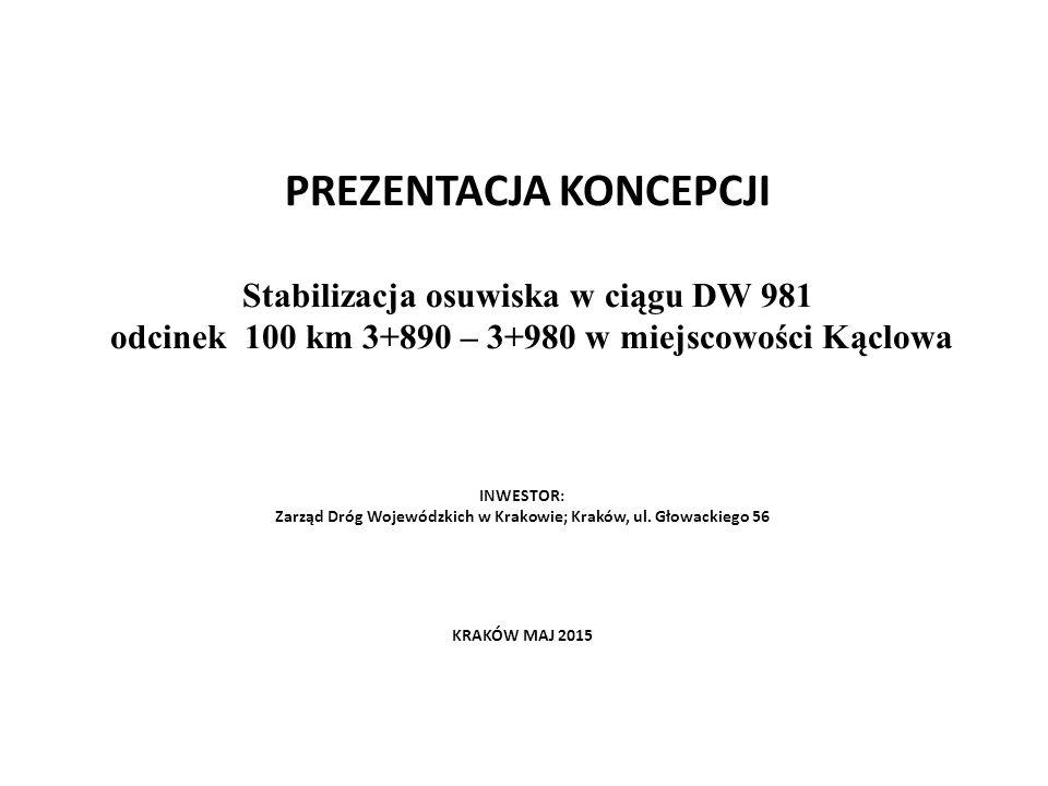 Zarząd Dróg Wojewódzkich w Krakowie; Kraków, ul. Głowackiego 56