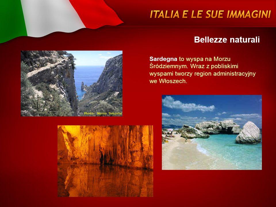 Bellezze naturaliSardegna to wyspa na Morzu Śródziemnym.