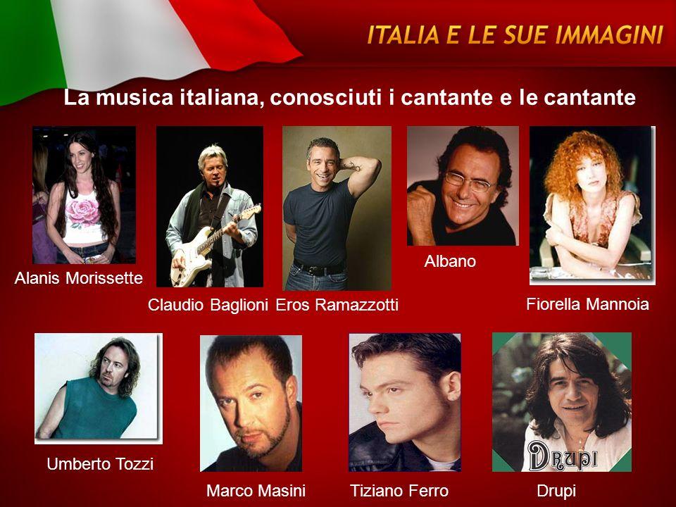 La musica italiana, conosciuti i cantante e le cantante