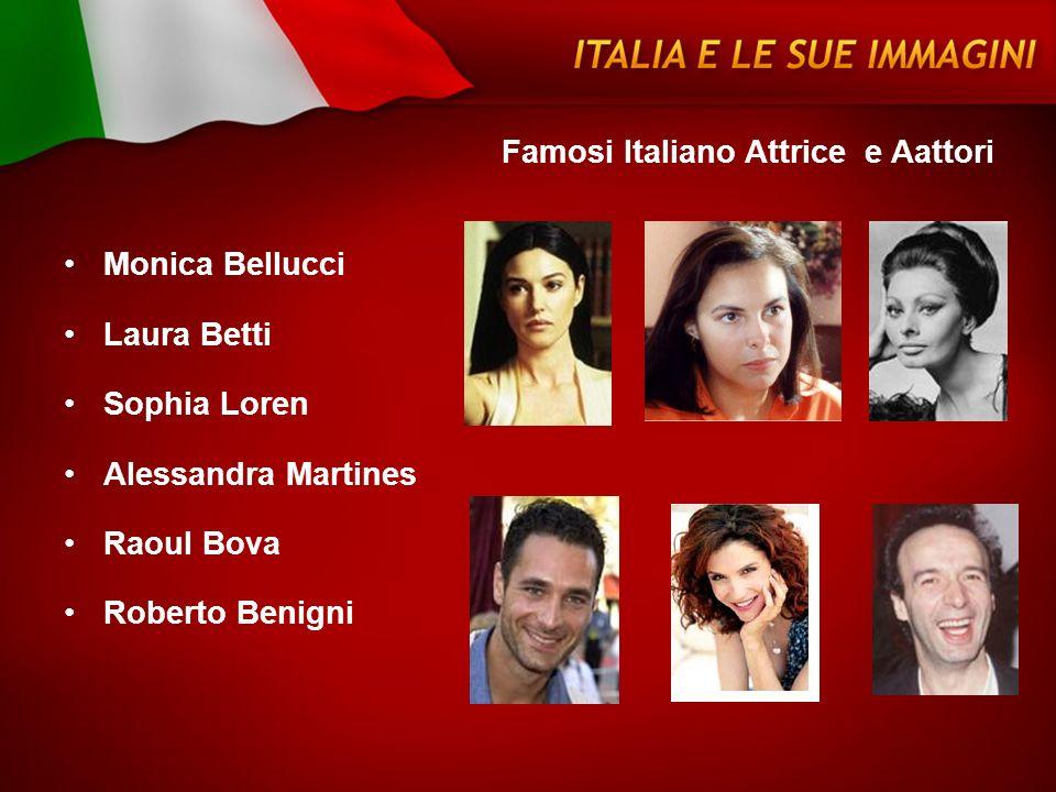 Famosi Italiano Attrice e Aattori