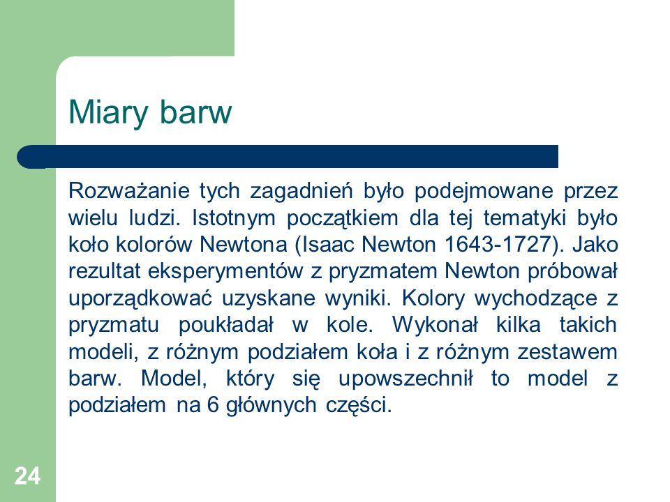 Miary barw