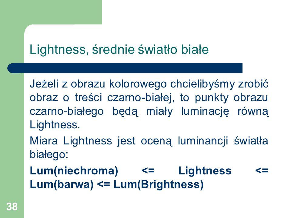 Lightness, średnie światło białe