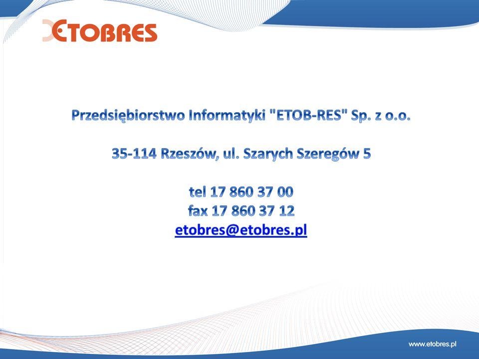 Przedsiębiorstwo Informatyki ETOB-RES Sp. z o.o.