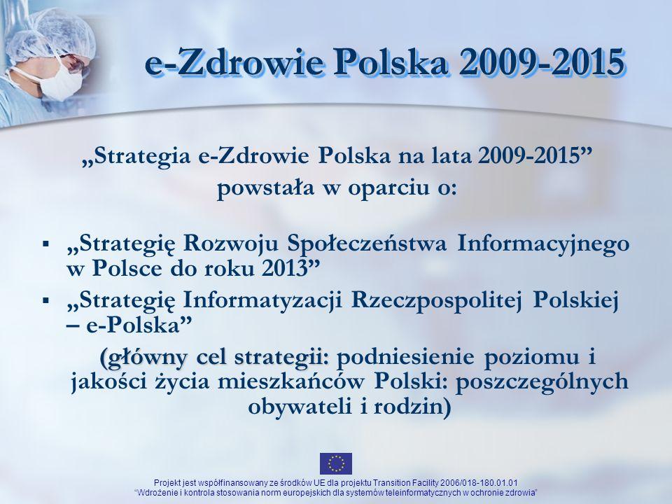 """""""Strategia e-Zdrowie Polska na lata 2009-2015"""