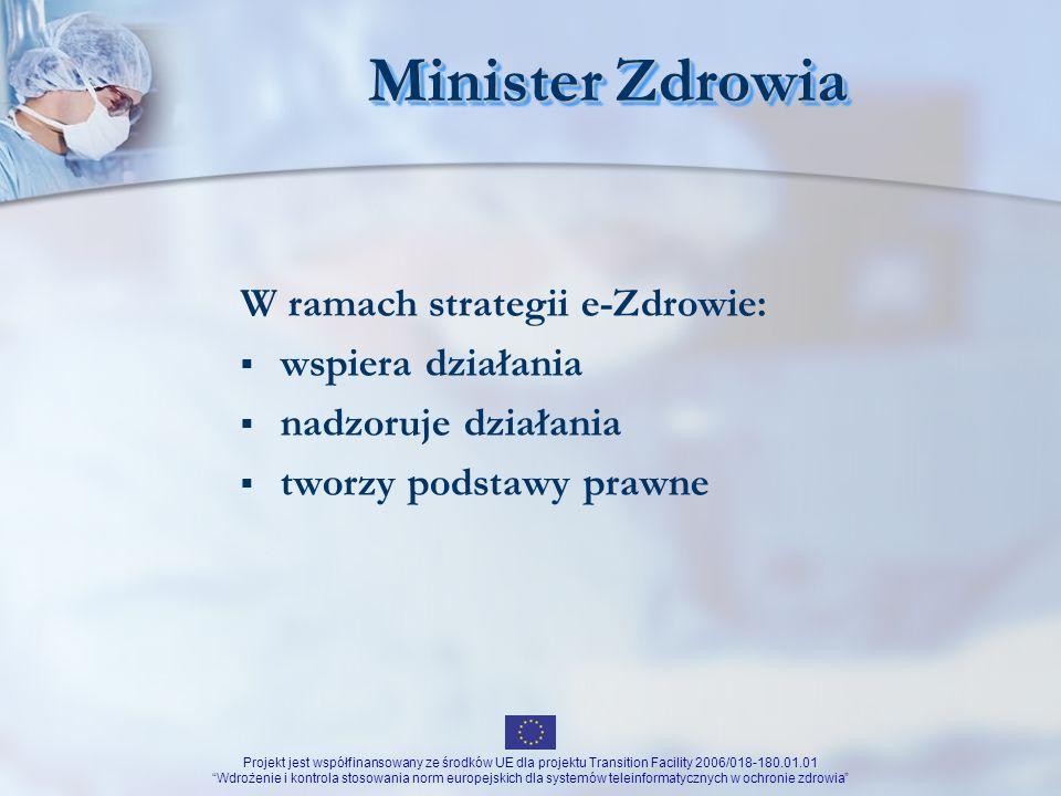 Minister Zdrowia W ramach strategii e-Zdrowie: wspiera działania