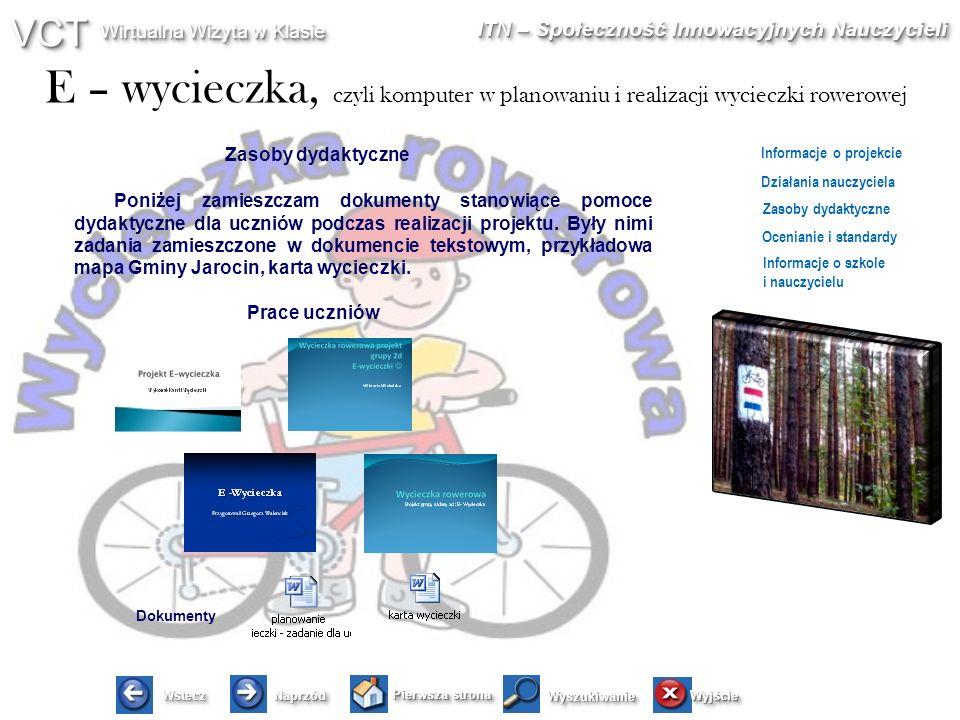Zasoby dydaktyczne Prace uczniów