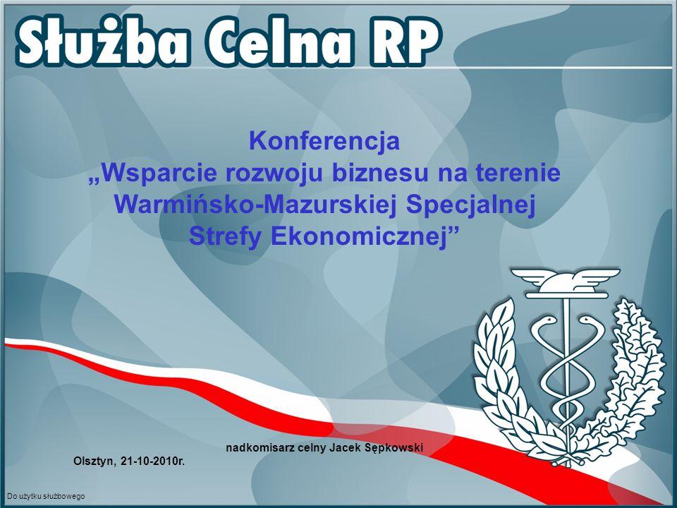 nadkomisarz celny Jacek Sępkowski