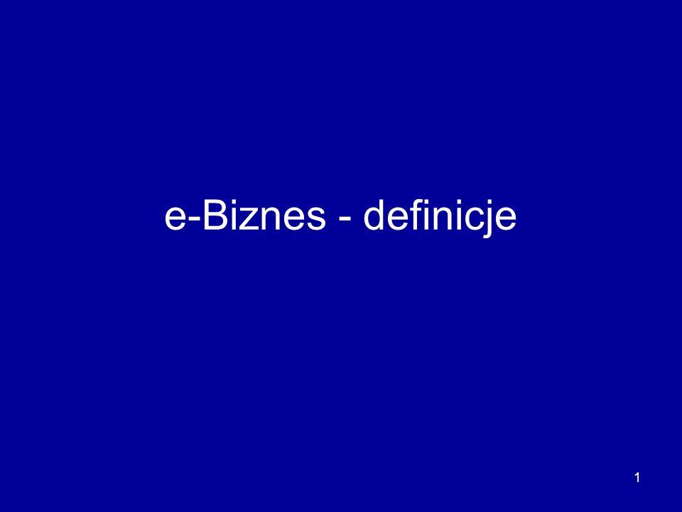 e-Biznes - definicje