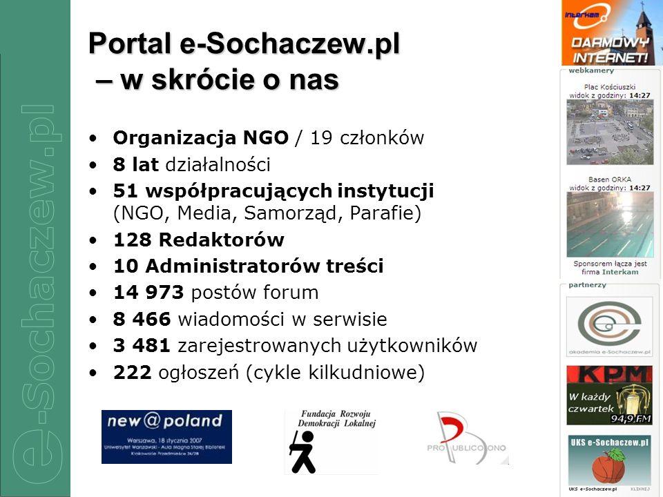 Portal e-Sochaczew.pl – w skrócie o nas