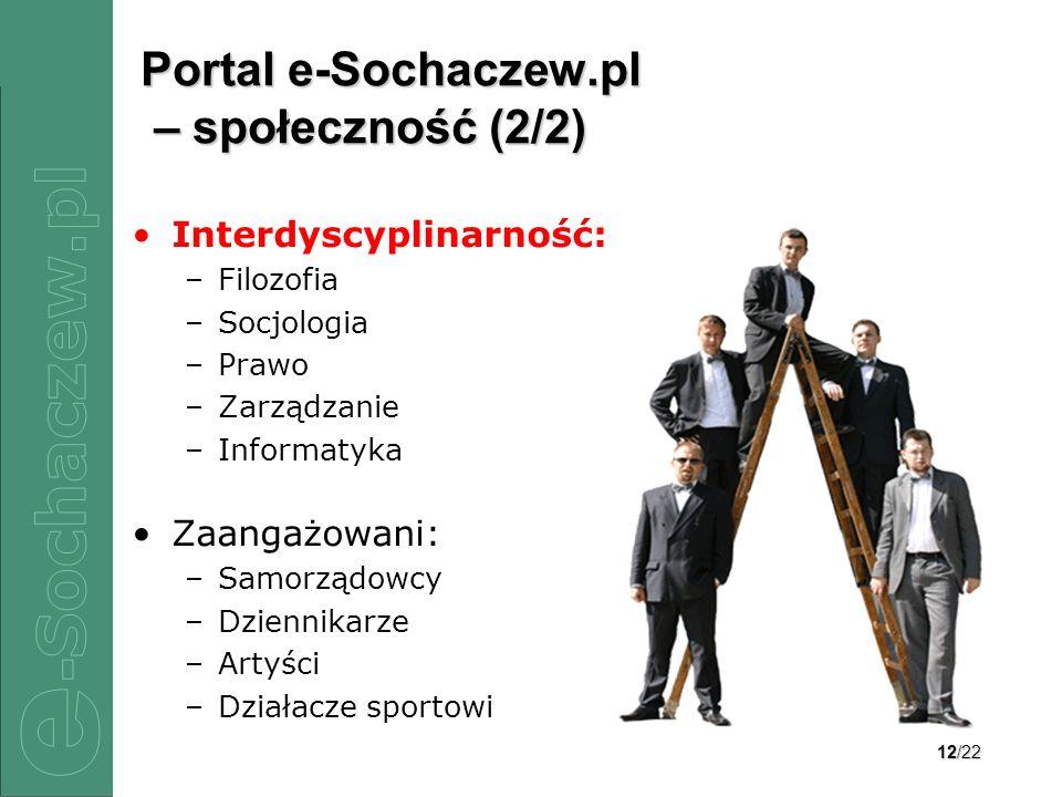 Portal e-Sochaczew.pl – społeczność (2/2)
