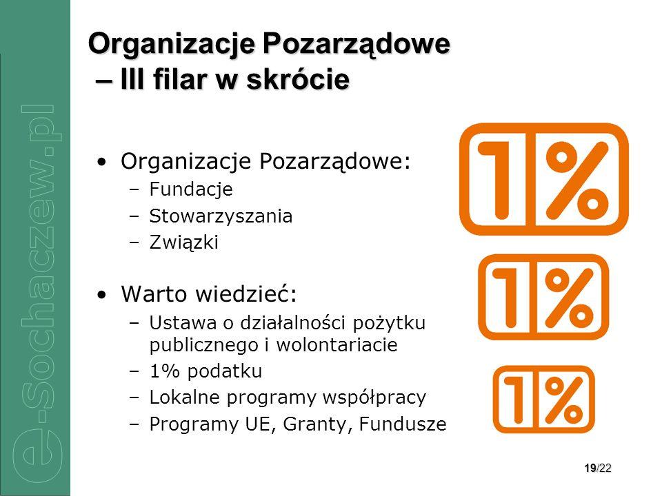 Organizacje Pozarządowe – III filar w skrócie