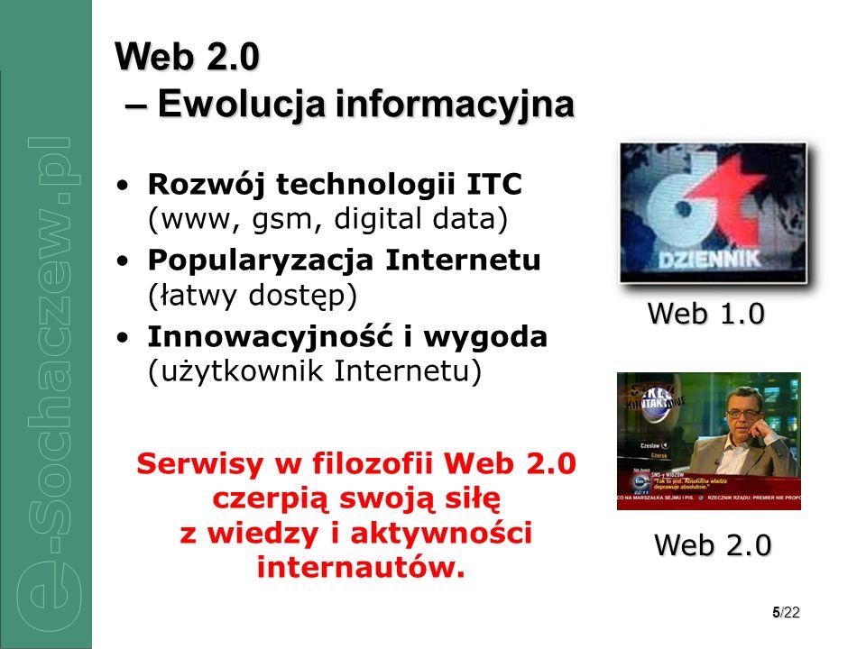 Web 2.0 – Ewolucja informacyjna