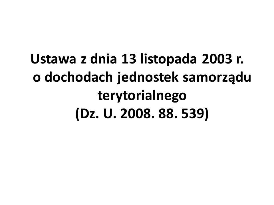 Ustawa z dnia 13 listopada 2003 r