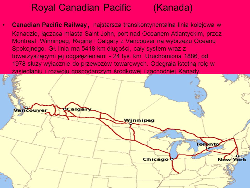 Royal Canadian Pacific (Kanada)