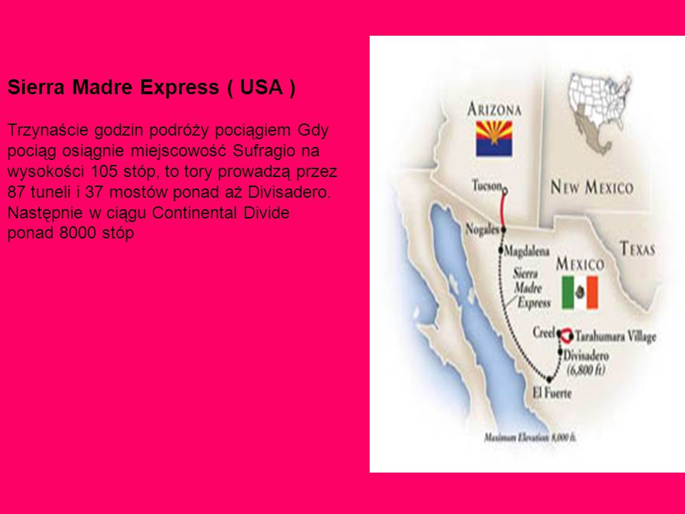 Sierra Madre Express ( USA )