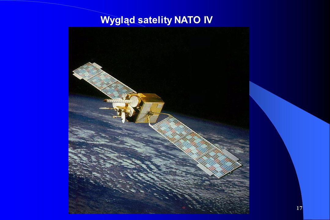 Wygląd satelity NATO IV