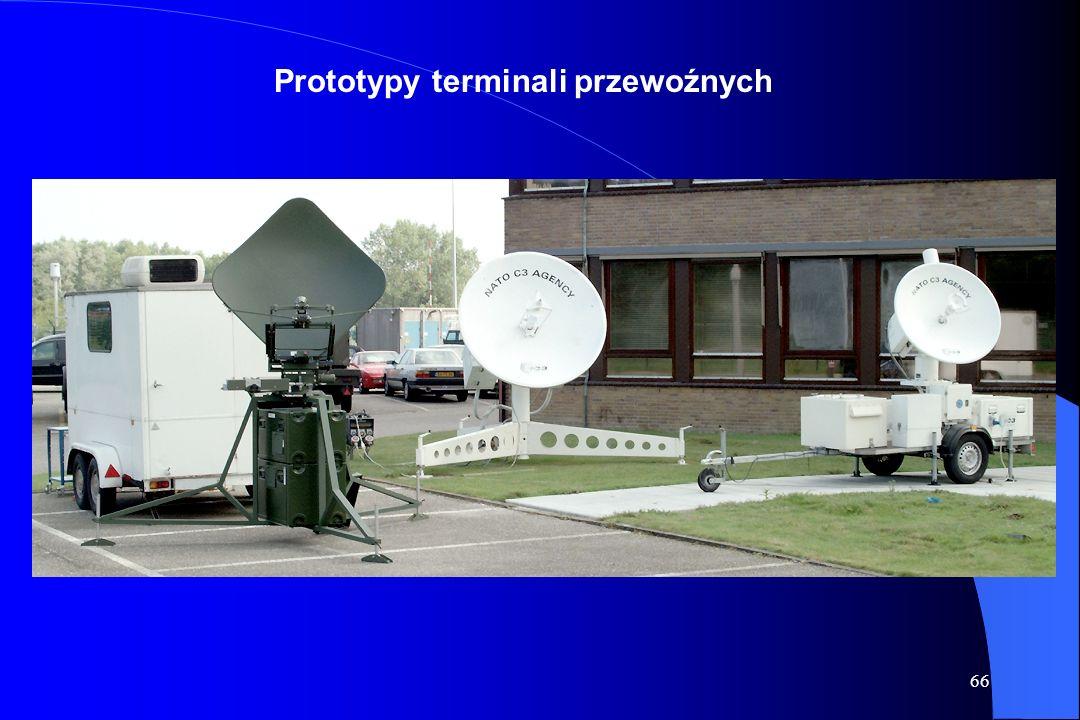 Prototypy terminali przewoźnych