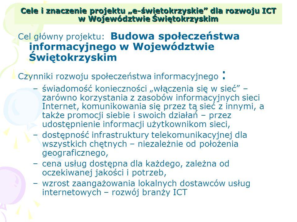 Czynniki rozwoju społeczeństwa informacyjnego :