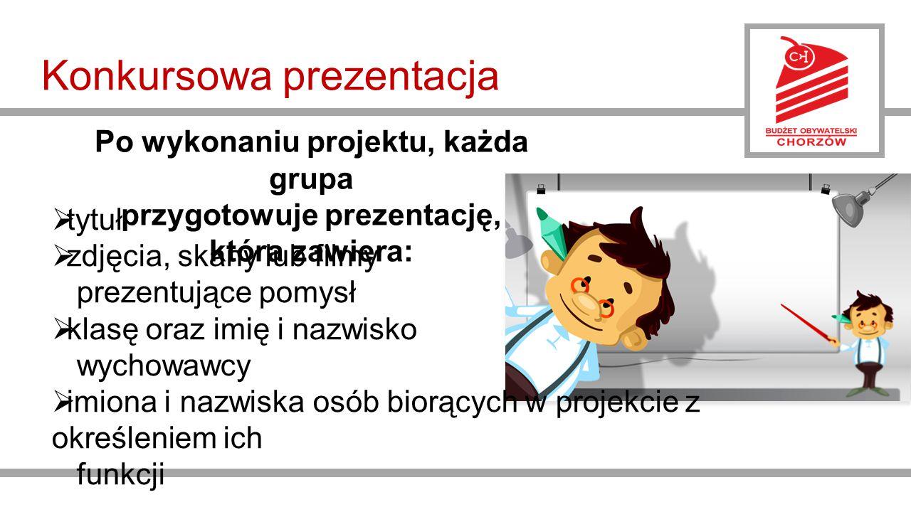 Konkursowa prezentacja