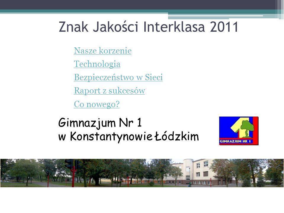 Znak Jakości Interklasa 2011