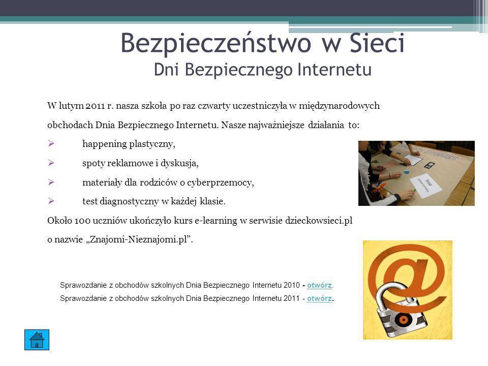 Bezpieczeństwo w Sieci Dni Bezpiecznego Internetu