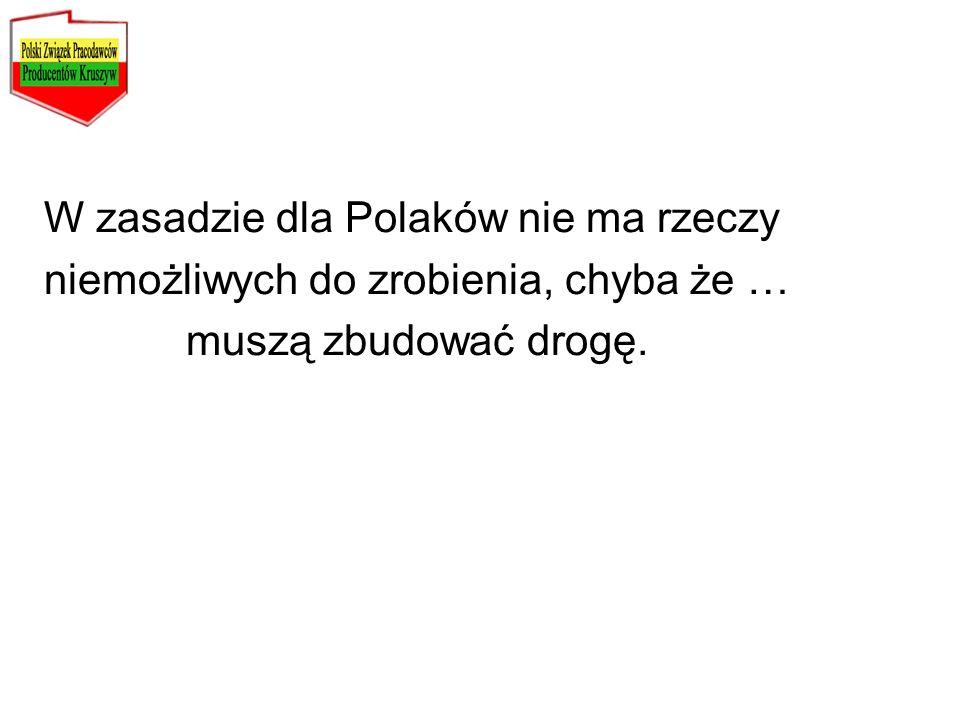 W zasadzie dla Polaków nie ma rzeczy