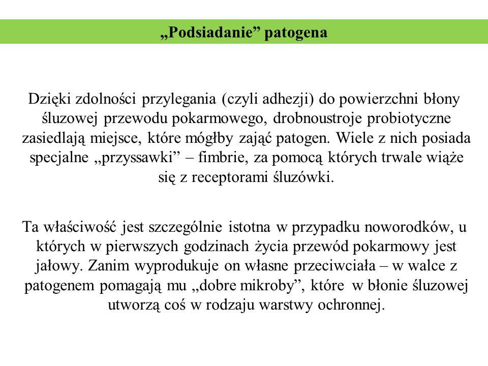 """""""Podsiadanie patogena"""