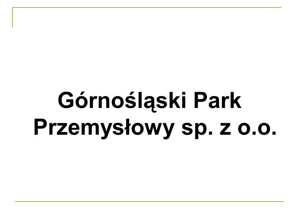 Górnośląski Park Przemysłowy sp. z o.o.