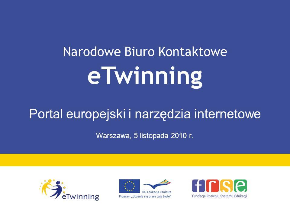 Portal europejski i narzędzia internetowe Warszawa, 5 listopada 2010 r.