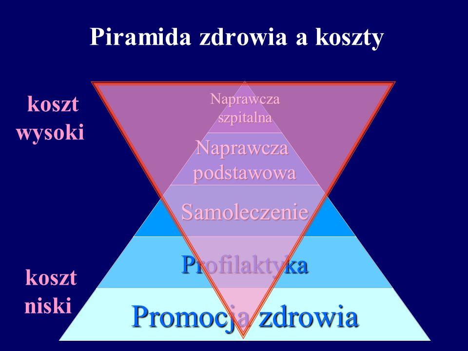 Piramida zdrowia a koszty