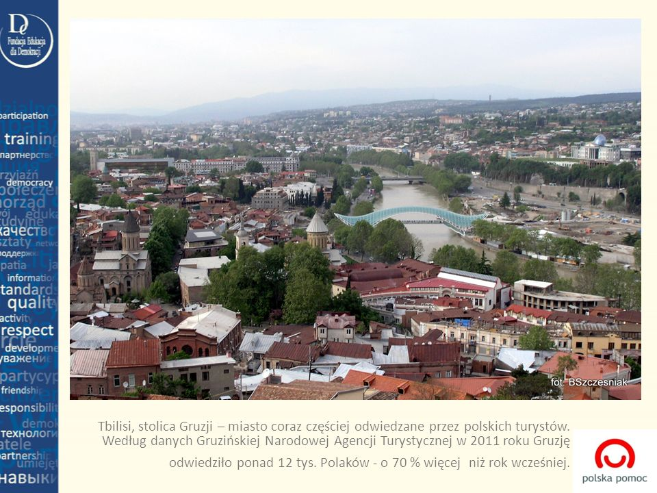 Tbilisi, stolica Gruzji – miasto coraz częściej odwiedzane przez polskich turystów.