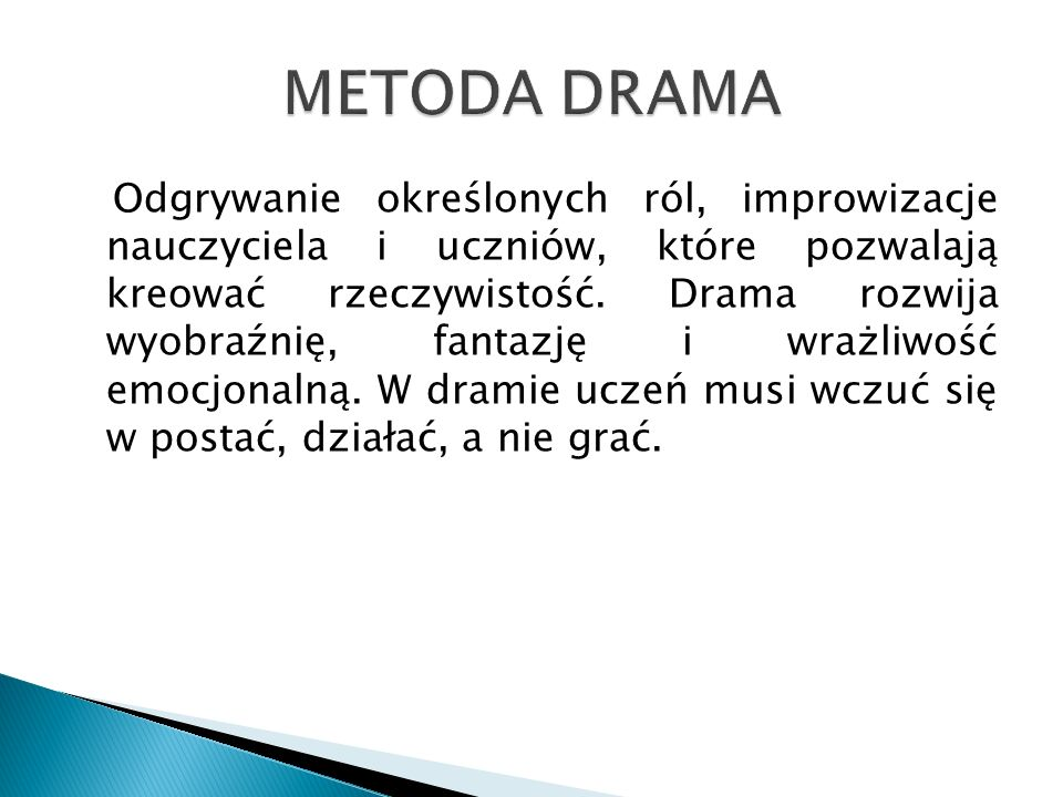 METODA DRAMA