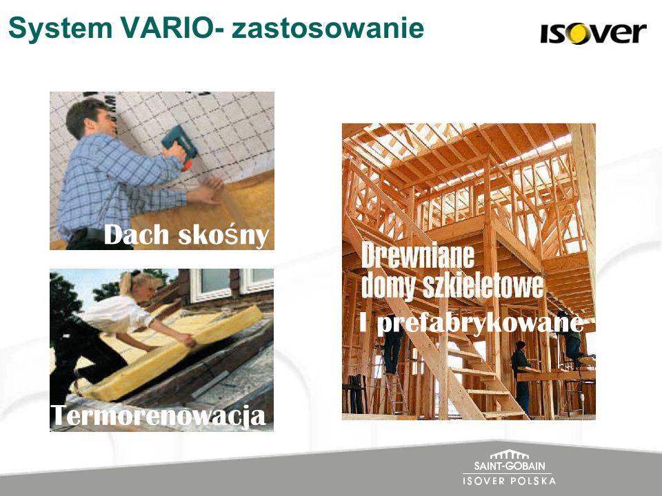 System VARIO- zastosowanie