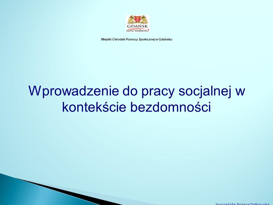 Miejski Ośrodek Pomocy Społecznej w Gdańsku