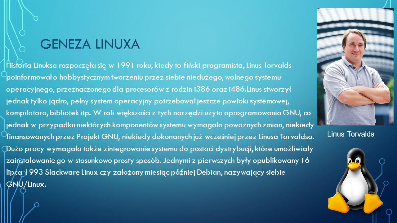 geneza linuxa