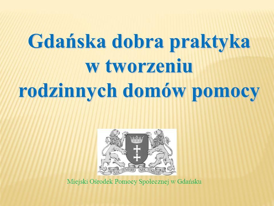 Gdańska dobra praktyka rodzinnych domów pomocy