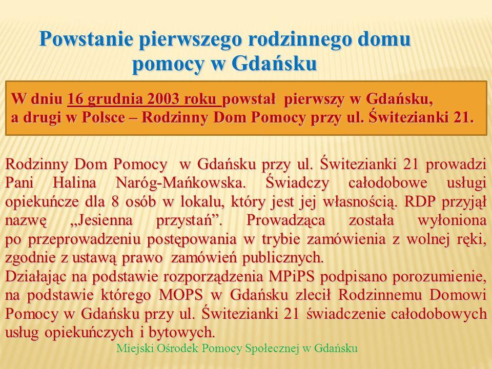 Powstanie pierwszego rodzinnego domu pomocy w Gdańsku