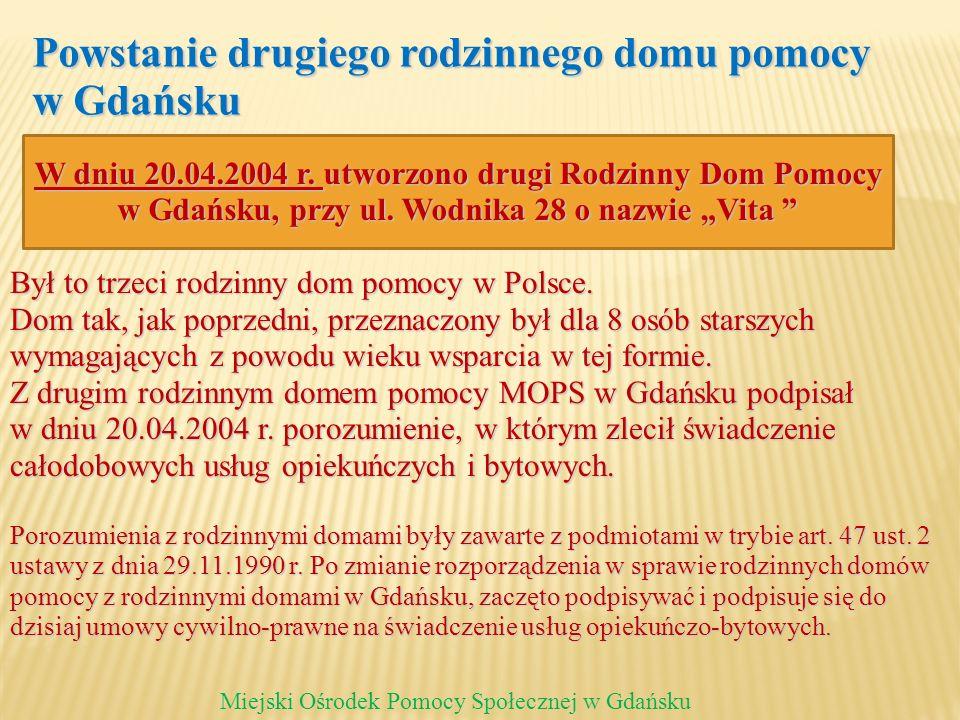 Powstanie drugiego rodzinnego domu pomocy w Gdańsku