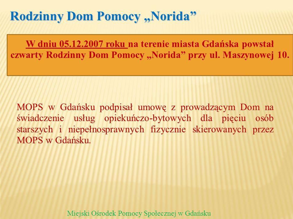 """Rodzinny Dom Pomocy """"Norida"""