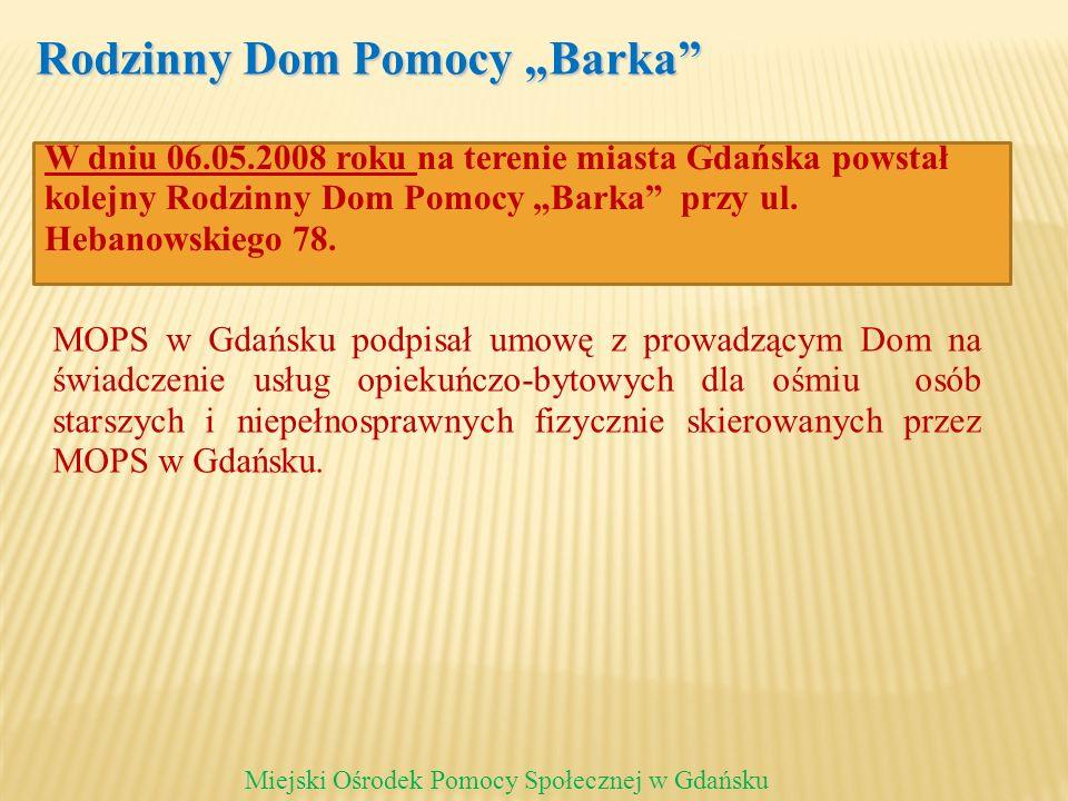 """Rodzinny Dom Pomocy """"Barka"""